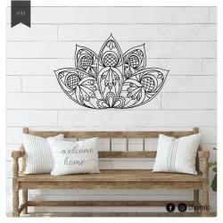 Vinilo Decorativo flor de loto