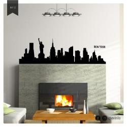 Vinilo Skyline New York