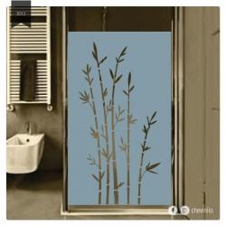 Vinilo - Esmerilado bambu