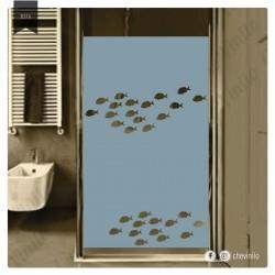 Vinilo - Esmerilado peces