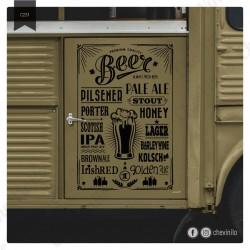 Vinilo Cervezas