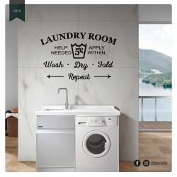Vinilo Laundry Room 1