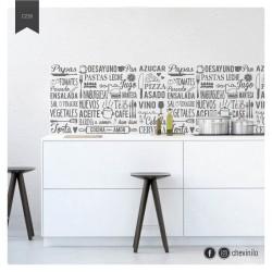 Vinilo Cocina Mural