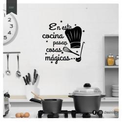Vinilo Cocina Mágica