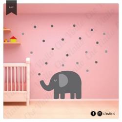 Vinilos - Infantil Elefante
