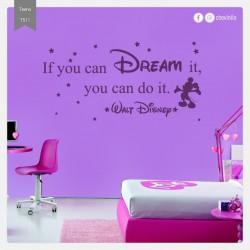 Vinilo dream disney