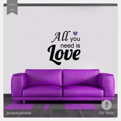 Vinilo decorativo all you need