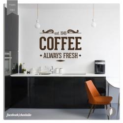 Vinilo decorativo coffee