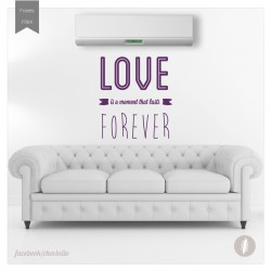 Vinilo decorativo love for...