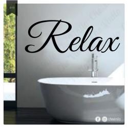 Vinilo Baño Relax