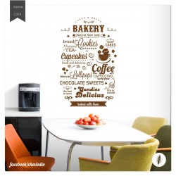 Vinilo decorativo bakery